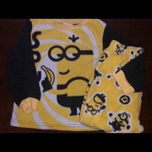 Other - Despicable Me toddler boy pajamas